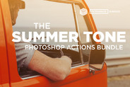 Summer Tone Photoshop Actions Bundle