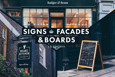 Signs   Facades Mockups  UK Edition