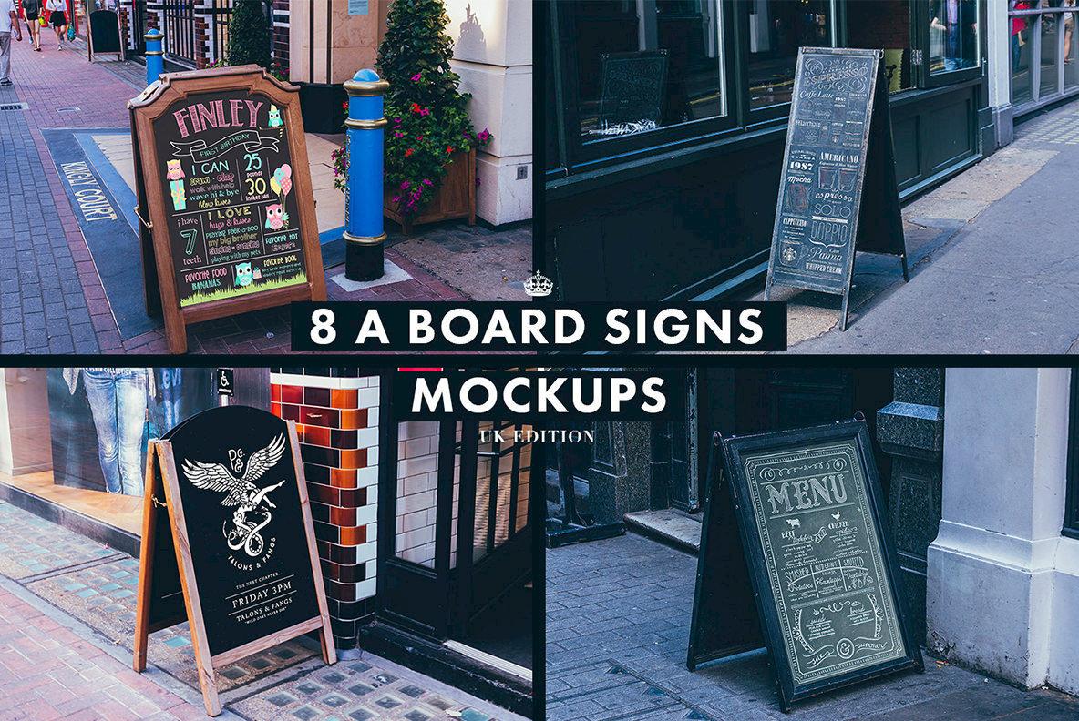Signs   Facades Mockups  UK Edition