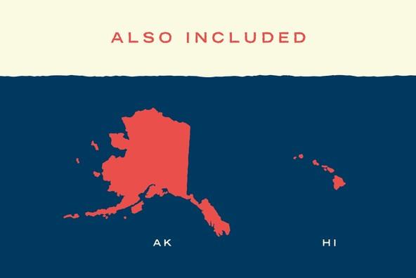 U S  Map