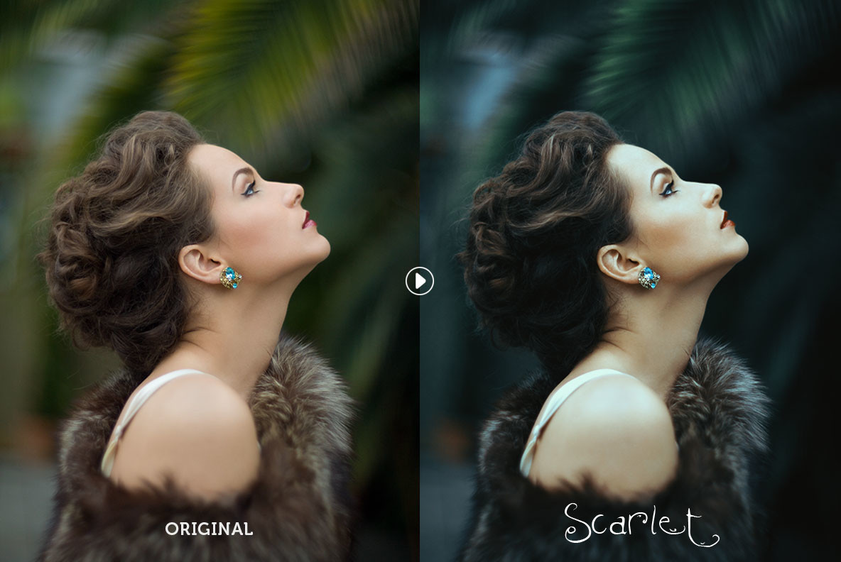 Scarlet Photoshop Action
