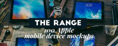 The Range   100 Apple iDevice Mockups