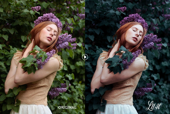 Lilac Lightroom Preset Pack