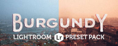 Burgundy Lightroom Preset Pack