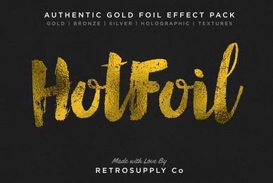 Hot Foil   Gold Foil Effects   More
