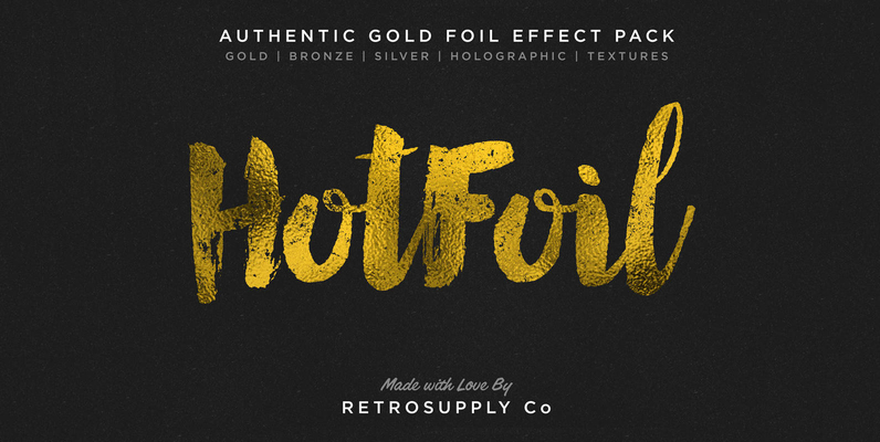 Hot Foil - Gold Foil Effects & More