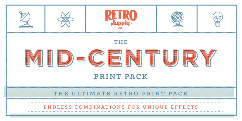 Mid-Century Print Pack