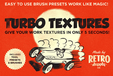 Turbo Textures Brush Kit and Extras
