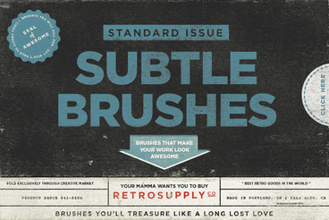 Standard Issue Subtle Brush Kit