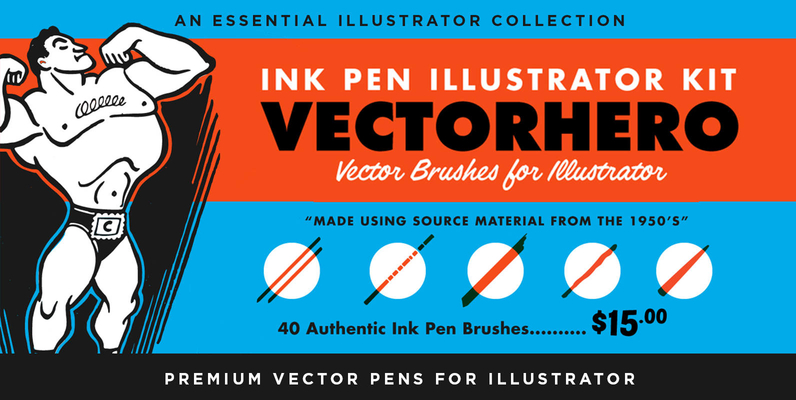 VectorHero | Ink Brush Pack
