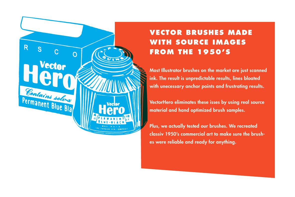 VectorHero   Ink Brush Pack