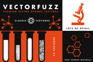 VectorFuzz   Brush and Sponge Textures for Illustrator