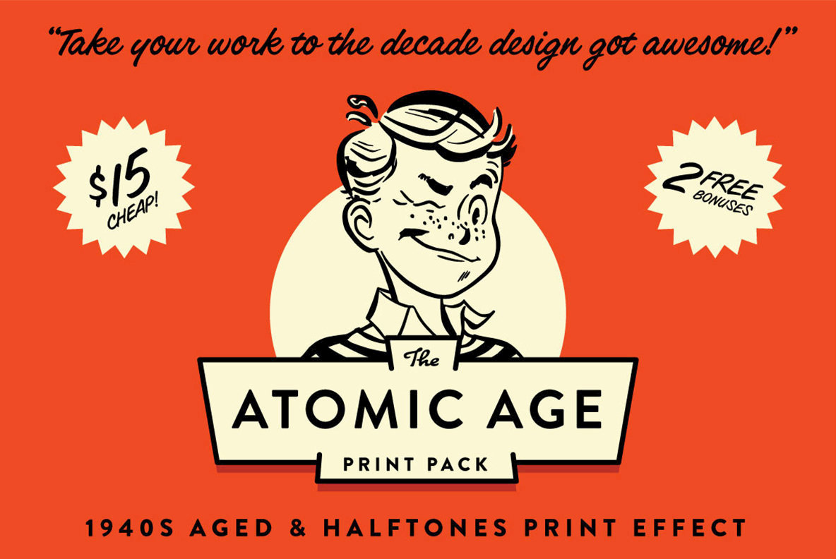 The Atomic Age Print Kit