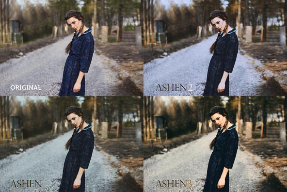 Ashen Landscape Photoshop Actions