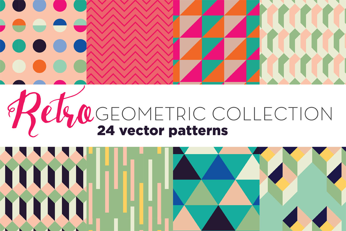 Retro Geometric Patterns