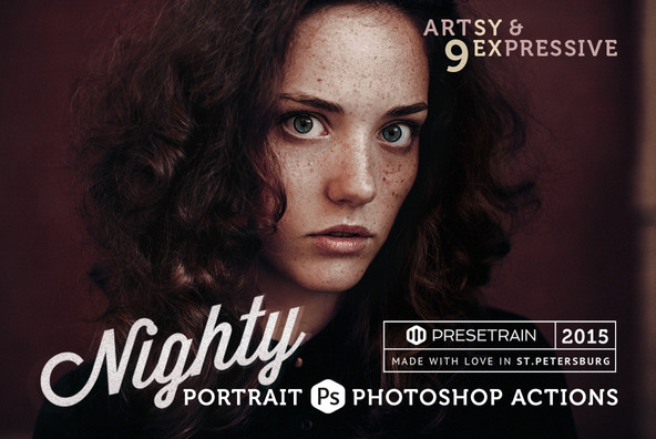 Nighty Portrait Actions