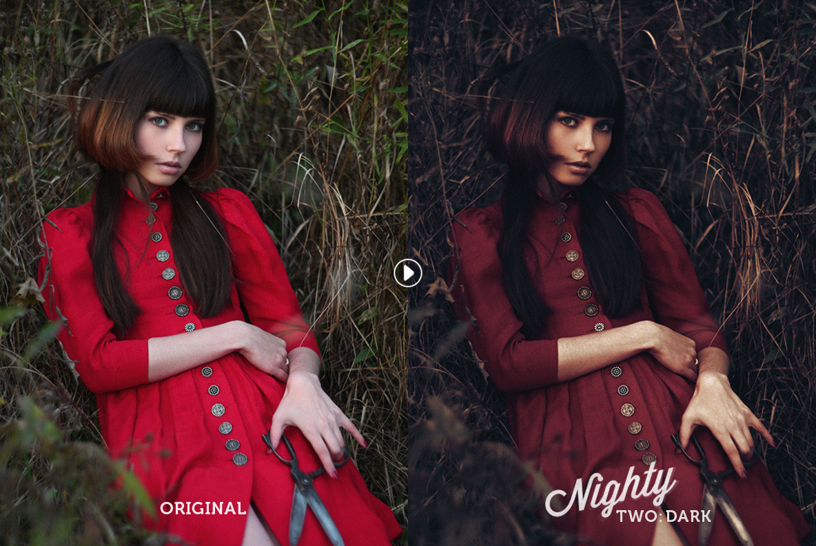 Nighty Portrait Actions