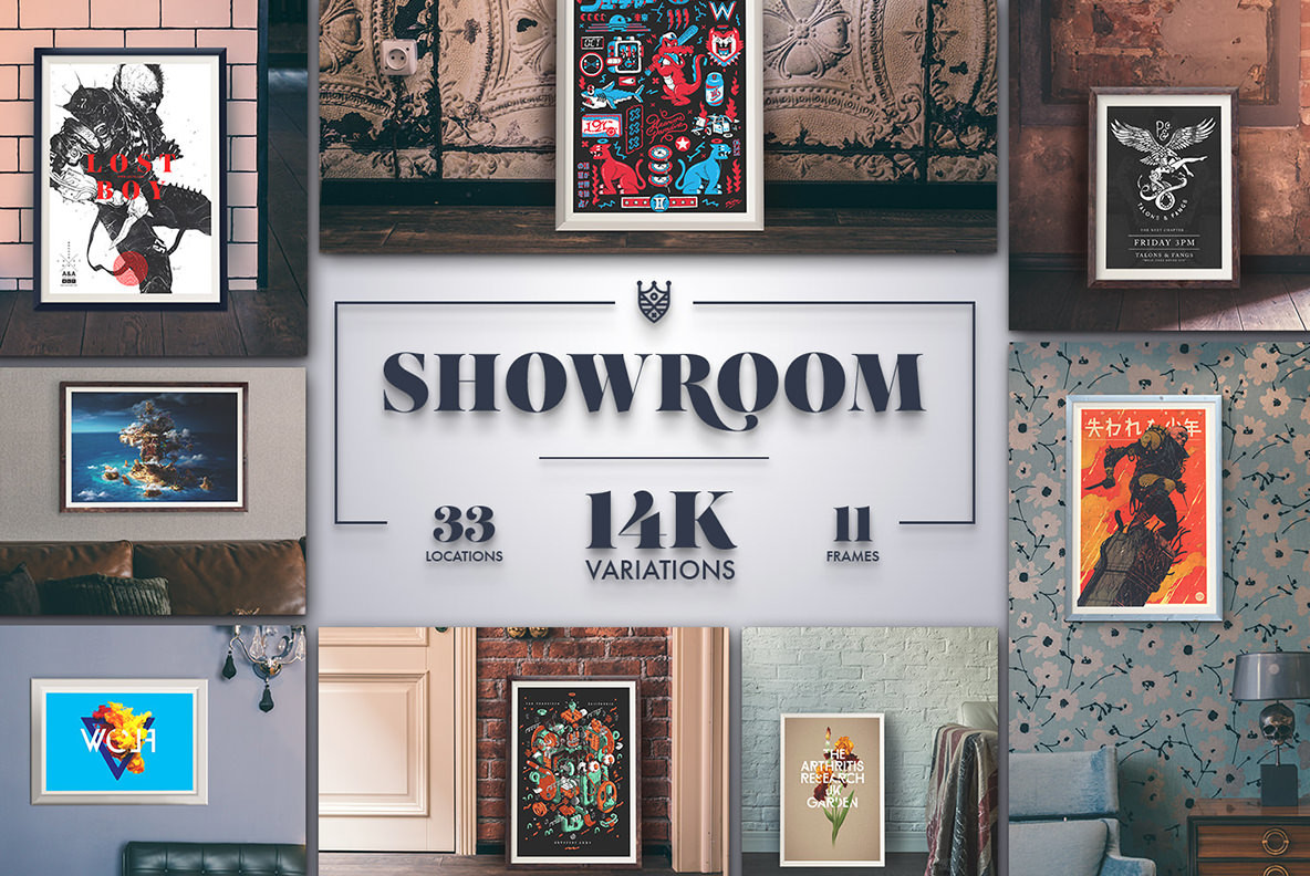 Showroom frames mockups graphics youworkforthem showroom frames mockups jeuxipadfo Images