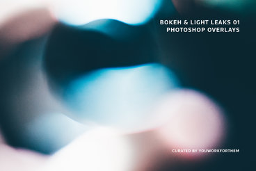 Bokeh  Light Leaks 01   Photoshop Overlays