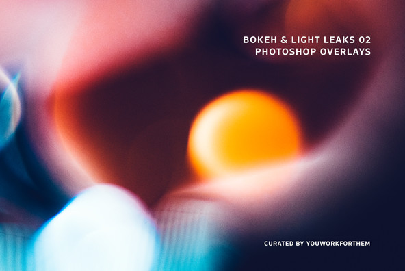 Bokeh   Light Leaks 02   Photoshop Overlays