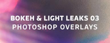 Bokeh   Light Leaks 03   Photoshop Overlays