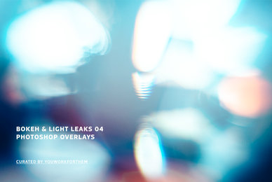 Bokeh  Light Leaks 04   Photoshop Overlays