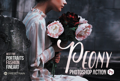 Peony Photoshop Action