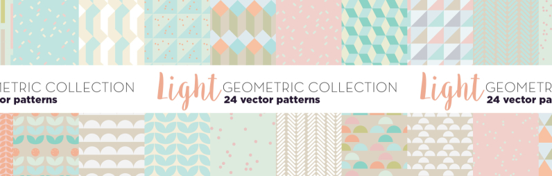 Light Geometric Patterns