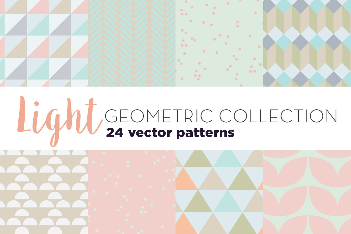 Light Geometric Patterns