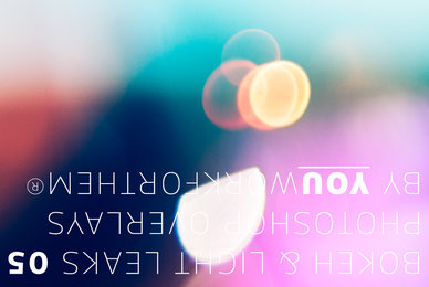 Bokeh  Light Leaks 05   Photoshop Overlays