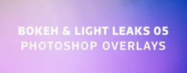 Bokeh  Light Leaks 05   Photoshop Overlays