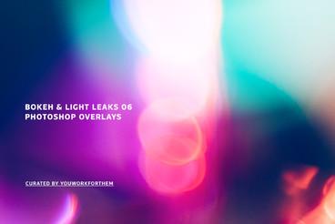 Bokeh   Light Leaks 06   Photoshop Overlays