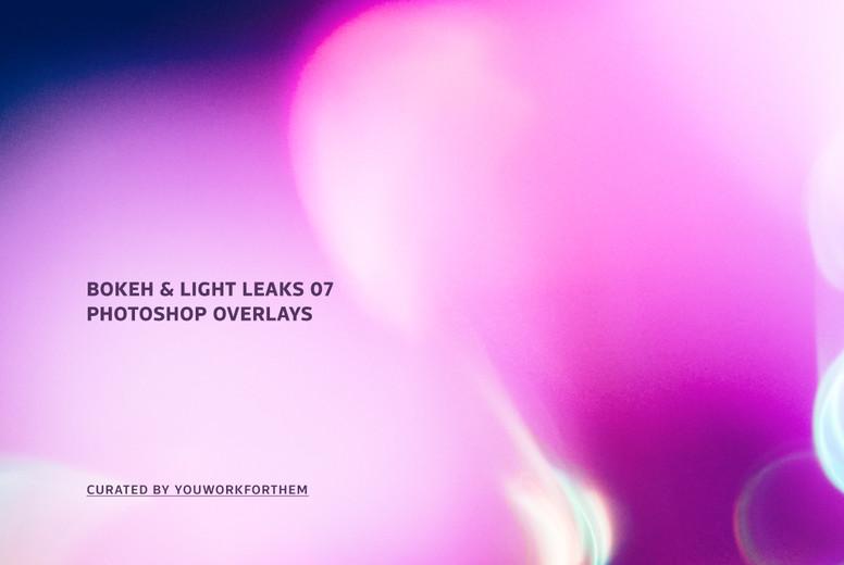 Bokeh   Light Leaks 07   Photoshop Overlays