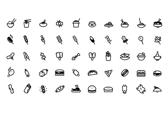 Eatery Icon Collection