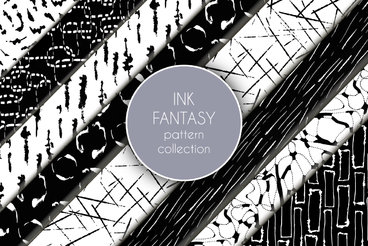 Ink Fantasy Pattern Collection