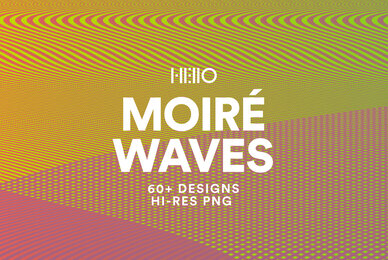 Moire Waves