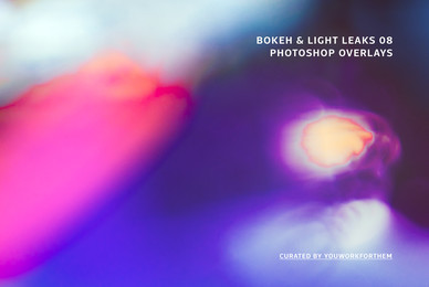 Bokeh   Light Leaks 08   Photoshop Overlays