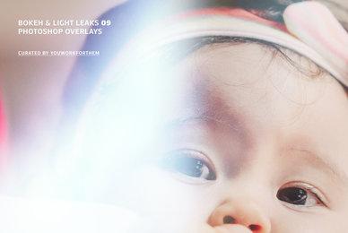 Bokeh   Light Leaks 09   Photoshop Overlays