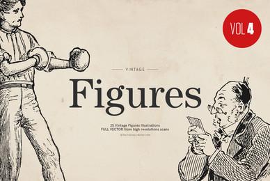 25 Retro Figures   Vol 4