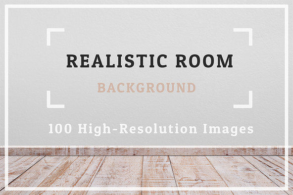 100 Realistic Rooms