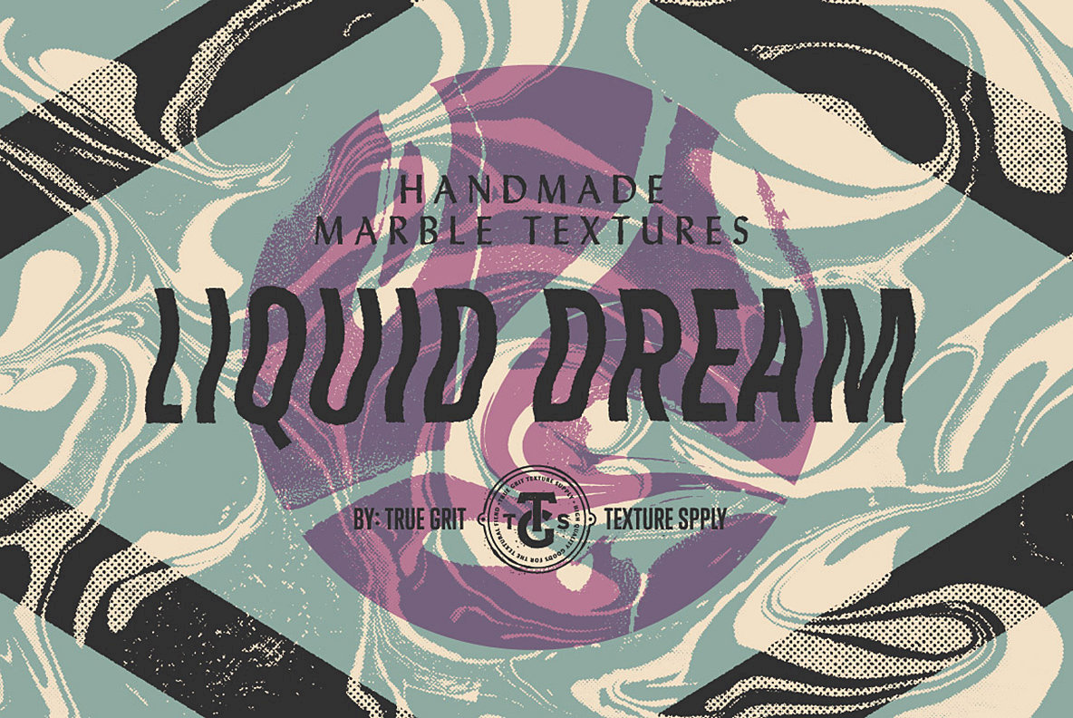 Liquid Dream Marbled Texture Pack