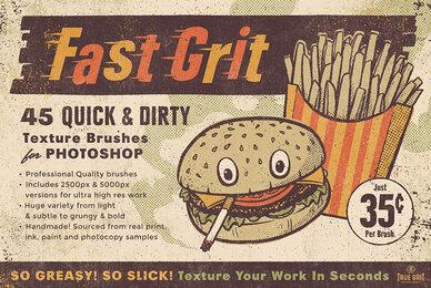 Fast Grit Texture Brush Set