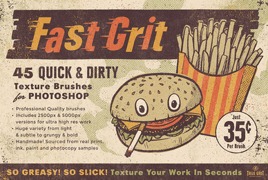 Fast Grit Texture Brush Set