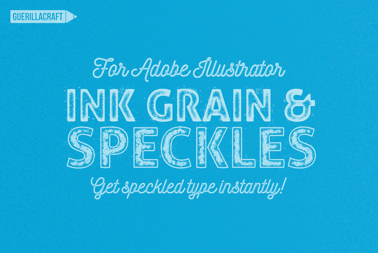 Ink Grain and Speckles