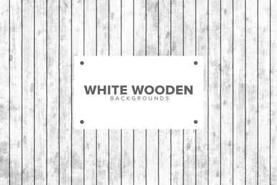 White Wooden Backgrounds