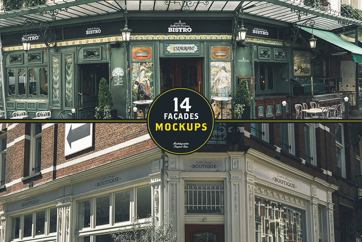 30 Signs   Facades   Paris   Amsterdam