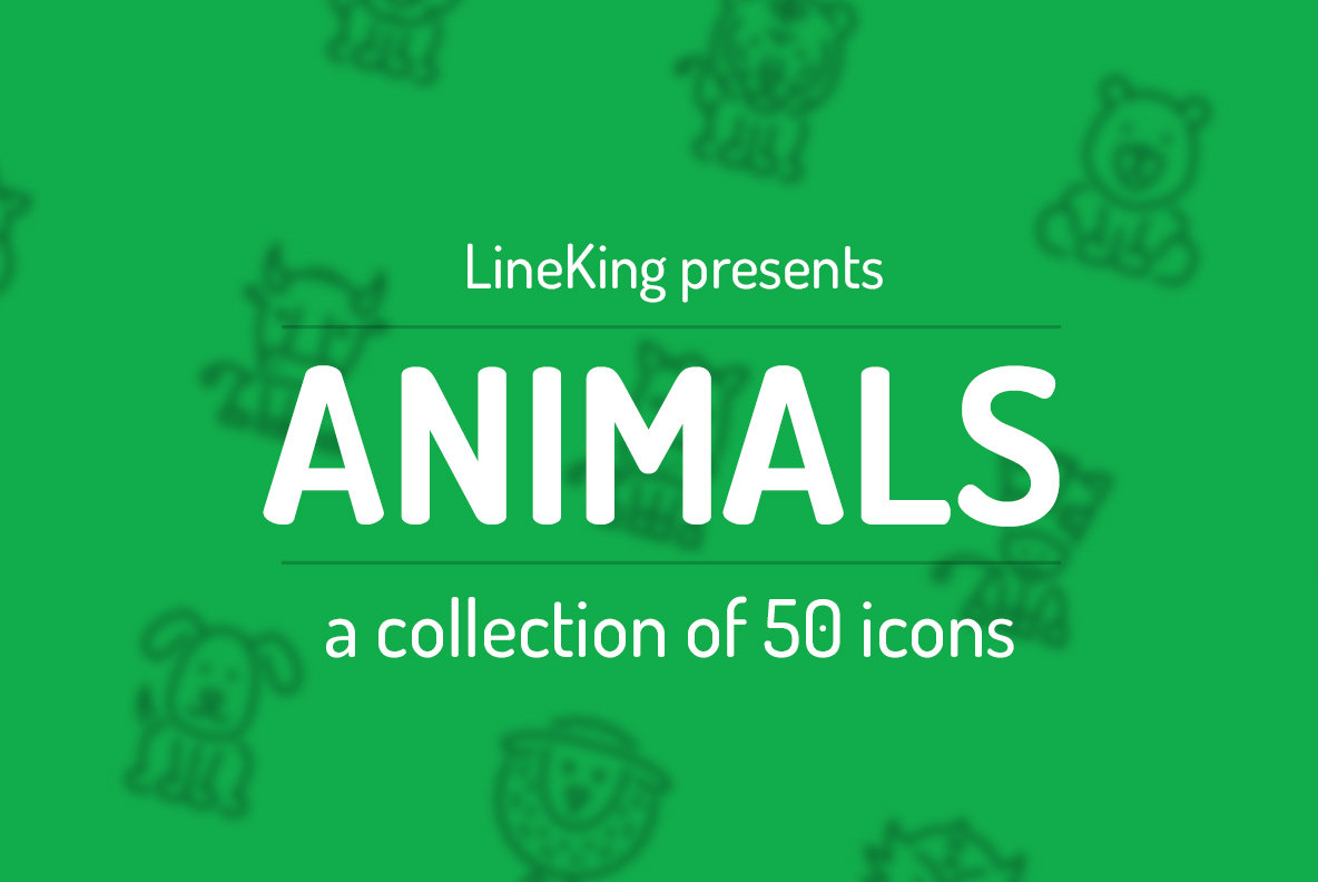 Animal Line Icons