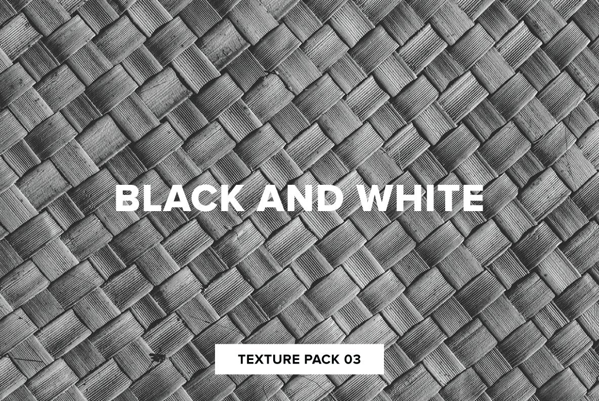 Black and White Texture Pack 03