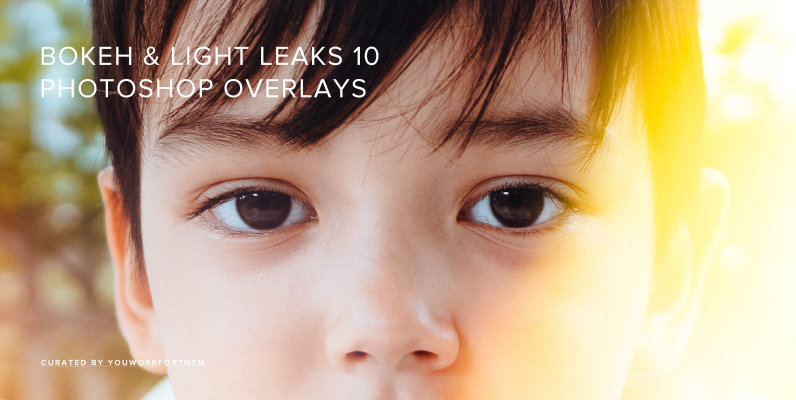 Bokeh & Light Leaks 10 - Photoshop Overlays