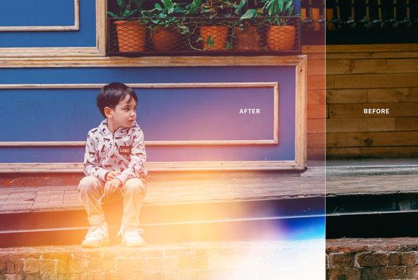 Bokeh   Light Leaks 11   Photoshop Overlays